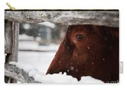 Red Milking Devon Snowflakes Carry-all Pouch