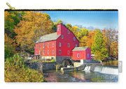 Red Mill Nj Fall Landscape Carry-all Pouch