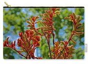 Red Kangaroo Paws At Pilgrim Place In Claremont-california- Carry-all Pouch