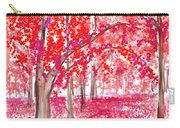 Red Mood Carry-all Pouch
