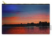 Red Morning Sun  Carry-all Pouch
