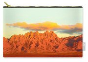 Red Mountain Sunset Organs Carry-all Pouch