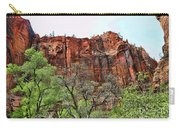 Red Mountains Zion National Park Usa Carry-all Pouch