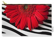 Red Mum And Red Lips Carry-all Pouch