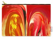 Red N Yellow Flowers 4 Carry-all Pouch