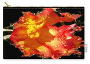 Red N Yellow Flowers Carry-all Pouch