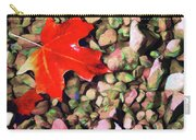 Red On The Rocks Carry-all Pouch by Jeff Kolker