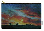 Red Orange Evening Carry-all Pouch