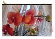 Red Orchid Flowers 01 Carry-all Pouch