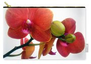 Red Orchid Flowers 02 Carry-all Pouch