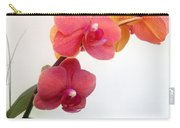 Red Pink Golden Orchid Flowers 03 Carry-all Pouch