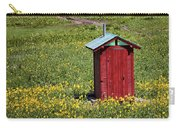 Red Outhouse 3 Carry-all Pouch