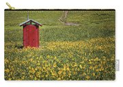 Red Outhouse 6 Carry-all Pouch