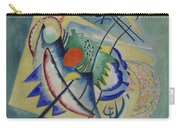 Red Oval By Vassily Kandinsky Carry-all Pouch