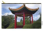 Red Pagoda Carry-all Pouch