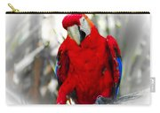 Red Parrot Carry-all Pouch