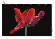 Red Parrot Tulip Carry-all Pouch