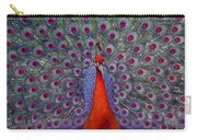 Red Peacock Carry-all Pouch