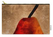 Red Pear IIi Carry-all Pouch by Carol Leigh