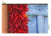 Red Peppers And Blue Door Carry-all Pouch