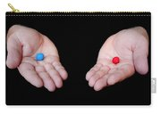 Red Pill Blue Pill Carry-all Pouch by Semmick Photo