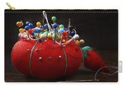 Red Pin Cushion Carry-all Pouch