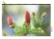 Red Pine Cone In Spring Time Carry-all Pouch