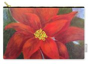 Red Poinsettia Carry-all Pouch
