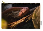 Red Poisonous Snake Carry-all Pouch