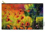 Red Poppies 451130 Carry-all Pouch
