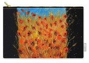 Red Poppies 6771 Carry-all Pouch
