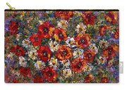 Red Poppies Bouquet Carry-all Pouch
