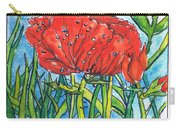 Red Poppy 1 Carry-all Pouch
