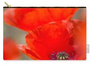 Red Poppy For Remembrance Carry-all Pouch