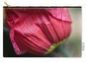 Red Poppy Sneaking Out Carry-all Pouch