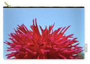 Red Purple Dahlia Flower Art Print Giclee Baslee Troutman Carry-all Pouch