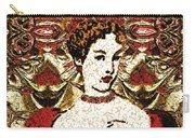 Red Queen Baroque Carry-all Pouch