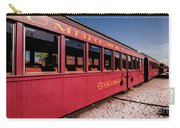 Red Rail Cars Carry-all Pouch