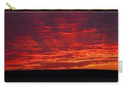 Red Ray Sunset Carry-all Pouch