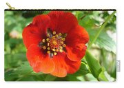 Red Red Bloom Carry-all Pouch