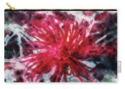 Red, Red... Flower Carry-all Pouch