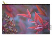 Red Red Leaves Carry-all Pouch