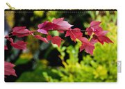 Red Red Maple Leaves Carry-all Pouch
