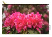 Red Rhododendron Flowers At Floriade, Canberra, Australia. Carry-all Pouch