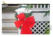 Red Ribbon On Steps Carry-all Pouch