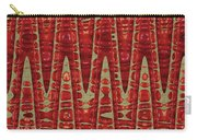Red Ripe Pomagranite Abstract Carry-all Pouch