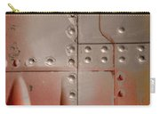 Red Rivets Carry-all Pouch