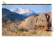 Red Rock And Pikes Peak Carry-all Pouch
