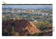 Red Rock Canyon Rock Quarry And Colorado Springs Carry-all Pouch