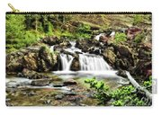 Red Rock Falls, Glacier National Park, Montana Carry-all Pouch
